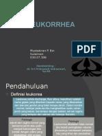 leukorrhea (keputihan)