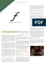 Boot Print Volume III/Issue I Magazine Forte (Summer 2009)