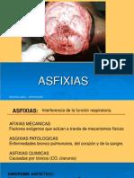 Medicina legal ASFIXIAS.