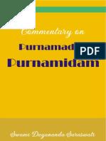 Purnamadah Purnamidam - A Commentary by Swami Dayananda.pdf