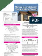 Manual de instalación de teja asfáltica