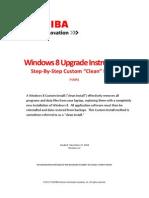 WINDOWS 8 UPGRADE HARDWARE INFORMATION