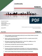Ekonomika Evropa 2013 (Dokument v AJ)