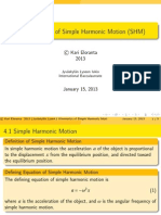 4.1 Introduction to Simple Harmonic Motion