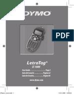 Letra Tag LT100H User Manual