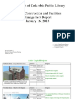 Document #10C.1 - Capital Projects and Facilities Mgt Report