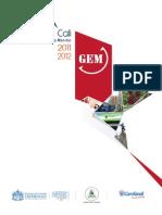 Global Entrepreneurship Monitor 2011 - 2012  Cali