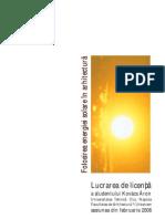 licenta energie fotovoltaica
