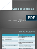 CRIOGLOBULINEMIAS - REVISÃO