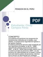 PENSIONES EN EL PERU