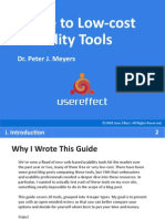 Guide to Low-cost