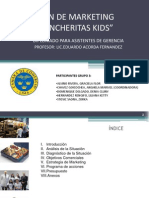 Plan de Marketing-Loncheritas Kids