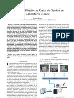 Sistema para laboratorio Clinico