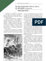 VOCABULARIO RELACIONADO CON EL AGUA