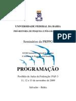 Programa SEMPPG2009