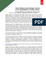 Adobe adquiere Behance para integrar nuevas capacidades de comunidad en Creative Cloud