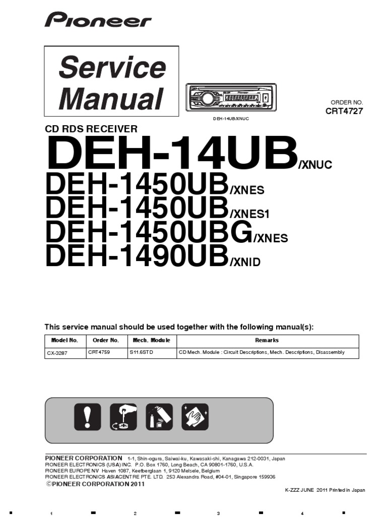 Deh P3900mp Wiring Diagram Free Download - Wiring Data