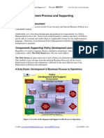 Enterprise Policy Development and Support