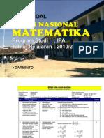 Bedah Soal Un Matematika Sma_ma_ipa 2010_2011