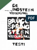 Wrecking Ball Testi Traduzioni e Note