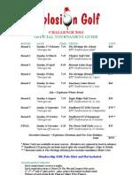 Tournament Guide 2013