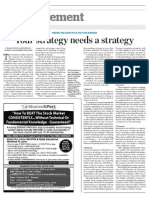 1 1 1 _ Your Strategy Needs a Strategy