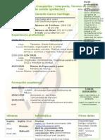 Curriculum Vitae Modelo4a Verde