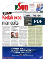TheSun 2009-02-10 Page01 Kedah Exco Man Quits