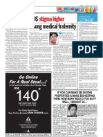 TheSun 2009-02-10 Page08 AIDS Stigma Higher Among Medical Fraternity
