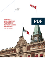 Forging a New Strategic Partnership between Canada and Mexico