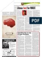TheSun 2009-02-10 Page16 Litmus Test for MACC