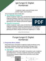 Fungsi-Fungsi IC Digital Kombinasional