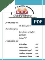global dimming