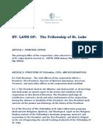 bylaws of st luke