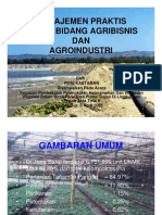 Manajemen Praktis Usaha Agribisnis dan Agroindustri.