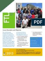 FTLA 2013 Syllabus