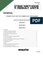 Testing Methods for Rebuild Units