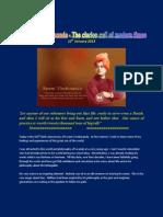 Swami Vivekananda - the clarion call of modern times- Subramanian A