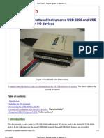 NI-USB6009