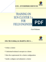 Sun Cluster PPT