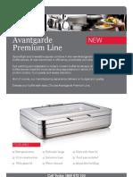 FEI Avantgarde Premium Line Buffet Servers