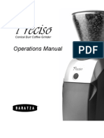 Baratza-PRECISO-Operations-Manual