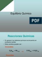 EQUILIBRIO QUIMICO PPT