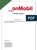 ExxonMobil-Strategic-Analysis-Report