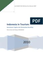 Konsistensi Branding Turisme Wisnu