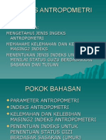 Indeks Antropometri