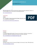 Agenda eventos empresariales enero