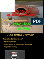 SAFETY FIRE WATCH TRAINING