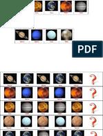 Lógica con los planetas del sistema solar