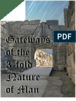 Gateways of the Threefold Nature of Man